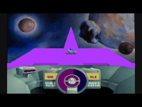 Gameplay: Skyroads (DOS) HD