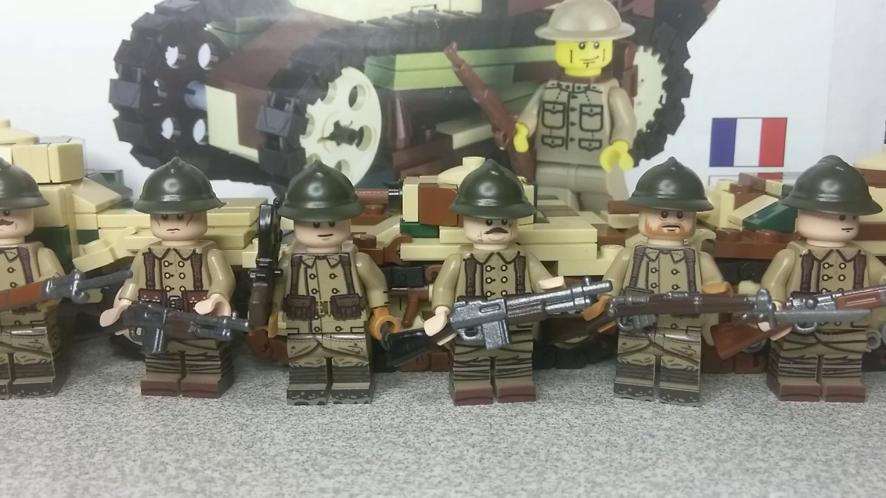 Lego WW2 French Army (January 2018)