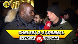 Chelsea 2-2 Arsenal | I'm So Proud Of The Team & The Fans Today! (Lee Judges)