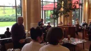 Surprise Carols at Celtic Manor breakfast