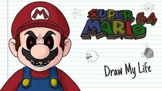 SUPER MARIO 64 Creepypasta   Draw My Life