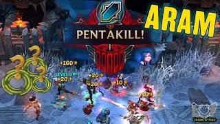 ARAM Pentakill 20 Minutes Montage 2020 - League Of Legends