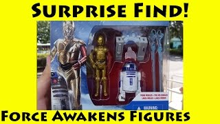 Surprise Find - New Star Wars The Force Awakens 3.75