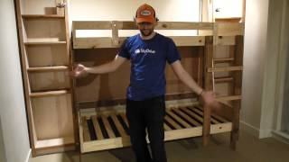 Hideaway Folding Bunk Beds @ Learnsprout Hq