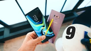 Samsung GALAXY NOTE 9 REVIEW!!!