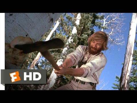 Jeremiah Johnson 57 Movie   Building a Home 1972 HD