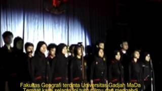 Hymne UGM  Mars Geo