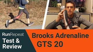 Brooks Adrenaline GTS 20 test & review - A daily road trainer