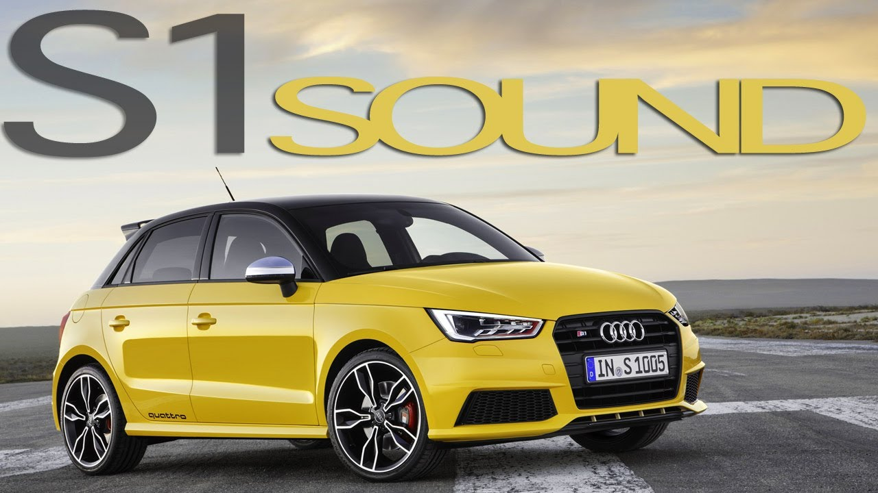 audi s1 sportback test drive awesome sound audis1 youtube. Black Bedroom Furniture Sets. Home Design Ideas