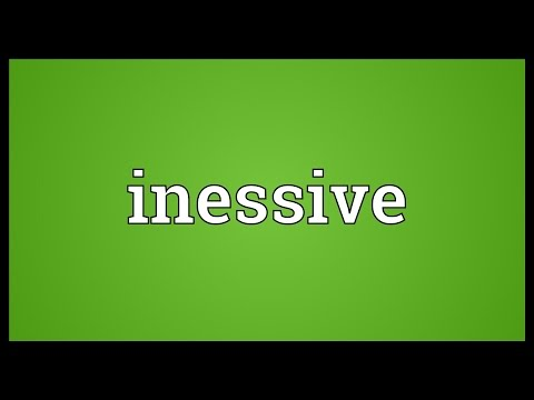 Header of inessive
