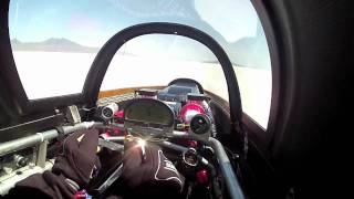 Speed Demon 426 mph Run - Cockpit View