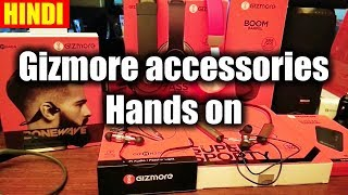 🇮🇳 [Hindi] Gizmore smartphone accessories Hands on Review
