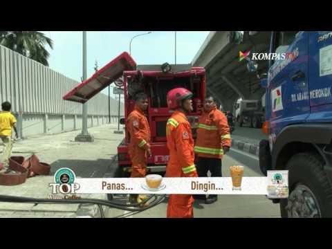 Area Berbahaya di Pertamina Jakarta Utara Terbakar