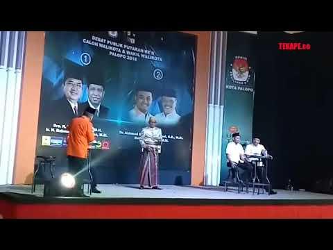 Paling Seru, Sesi Tanya Jawab Cawalkot Palopo Saling 'Serang' di Debat Kandidat Kedua