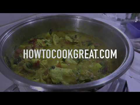 Chicken Curry - Cooking a Big pot of Chicken Masala Recipe