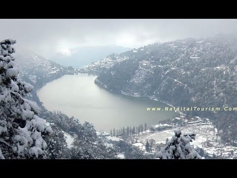 Nainital Snowfall 2012 - THE MOST BEAUTIFUL PLACE IN THE WORLD