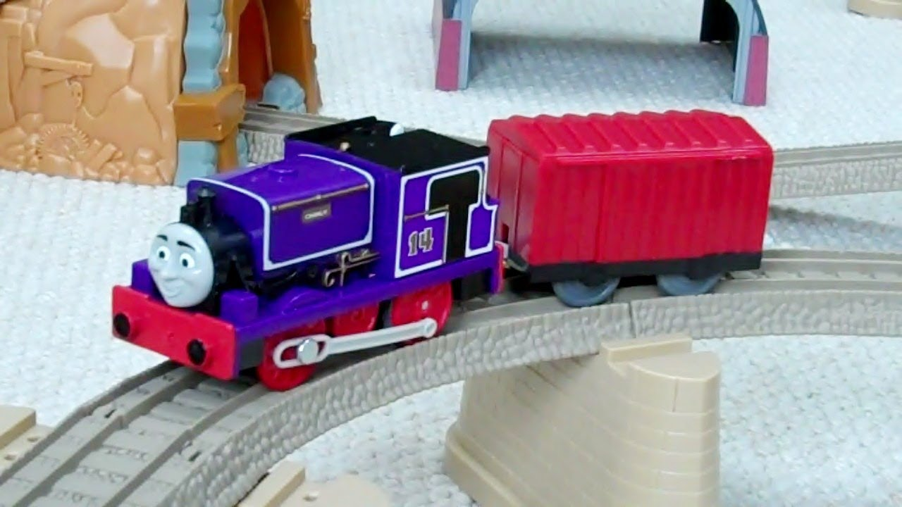 Trackmaster CHARLIE Thomas The Train Kids Toy Train Set
