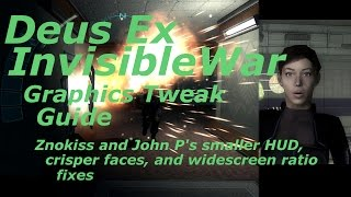 Deus Ex: Invisible War Graphics Tweak Guide