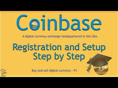 Coinbase registration step by step