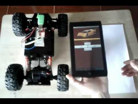 Android RC Control - ควบคุมรถบังคับ ด้วย Android