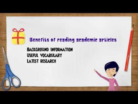 Reading academic articles