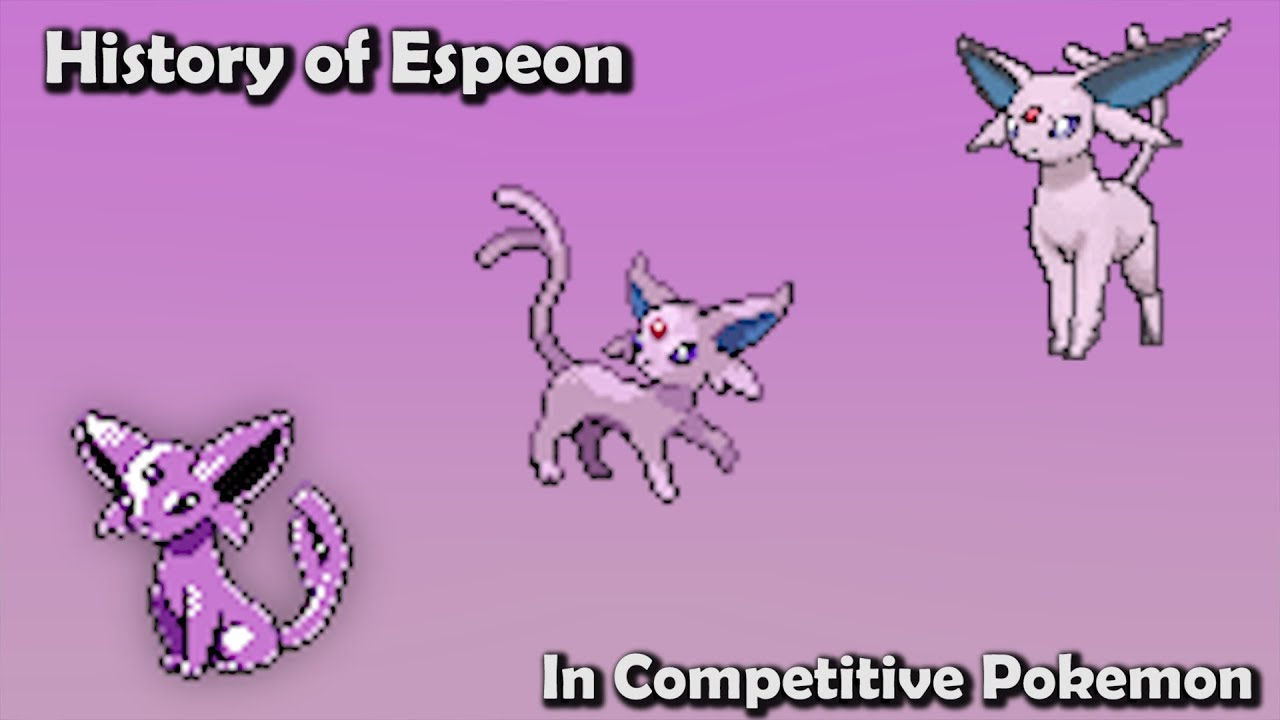 how good was espeon actually history of espeon in competitive