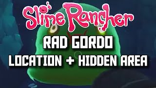 Slime Rancher - Indigo Quarry Location Rad Gordo Location - Slime Rancher Indigo Quarry Slime Key