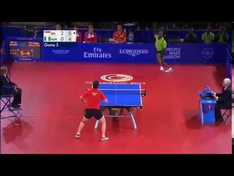 Un incroyable point au ping-pong : Chine VS Nigeria