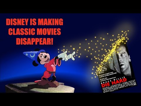 Disney Is Making Classic Films Disappear...