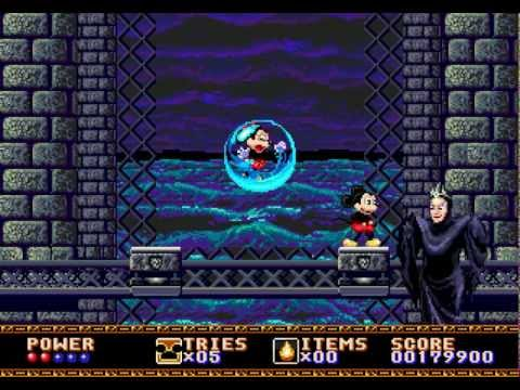 TAS HD: Genesis Castle of Illusion Starring Mickey Mouse in 17:33.03 by Aglar