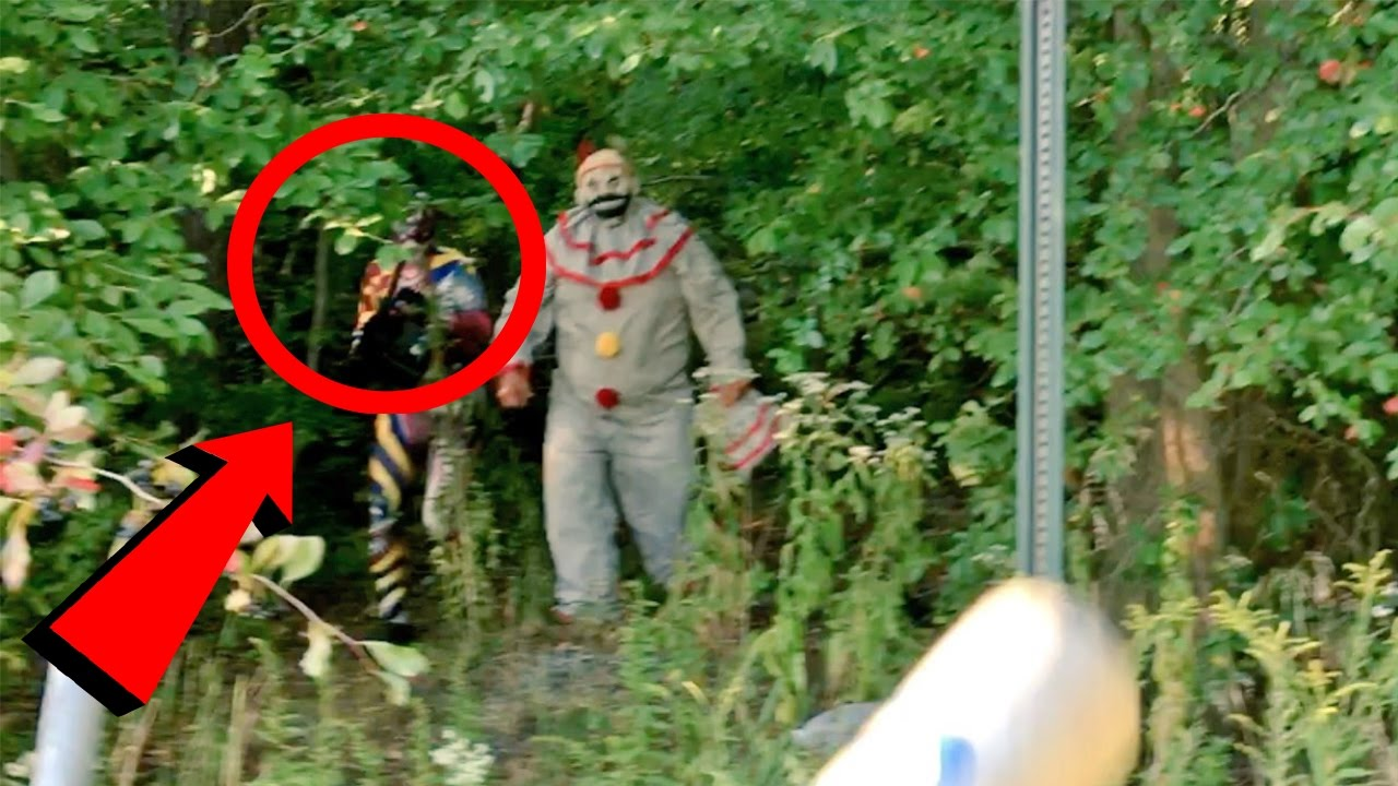Top 10 SCARIEST Clown Sightings Caught on Video (Scary ...