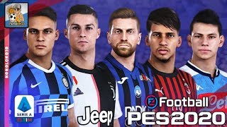 eFootball PES 2020 Serie A TIM TODAS FACES y RATINGS (Update)