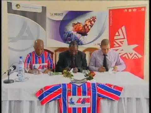 Maeva Group sponsors football club of Maxaquene, Maputo, Mozambique