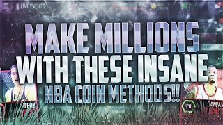 MAKE MILLIONS WITH THESE NBA LIVE MOBILE COIN MAKING METHODS!! INSANELY PROFITABLE SNIPING FILTERS!
