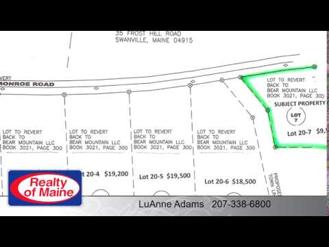 Lots And Land for sale - Lot 20-7 Monroe RD, Swanville, ME 04915
