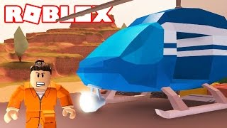 HOW TO GET A HELICOPTER IN JAIL & BREAK OUT / Roblox Episodes / Jailbreak EP #1