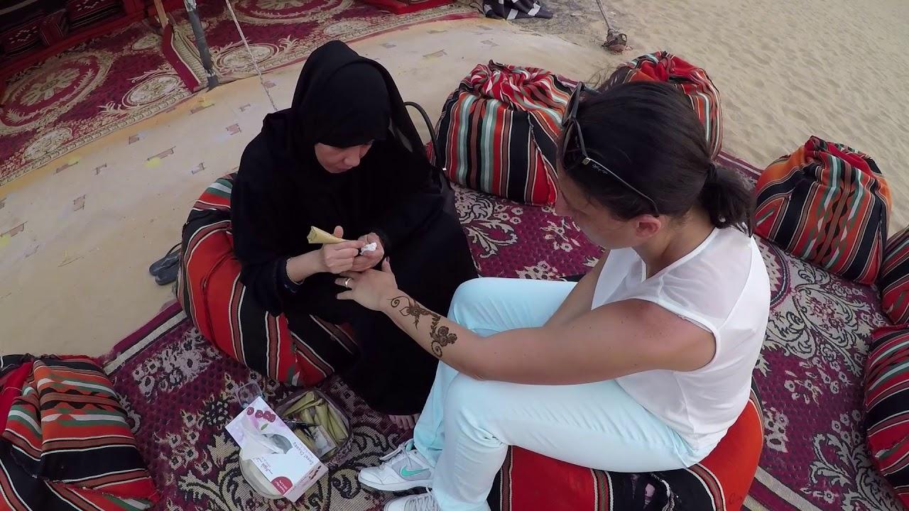 Black Henna Tattoo Dubai: Desert Safari Dubai