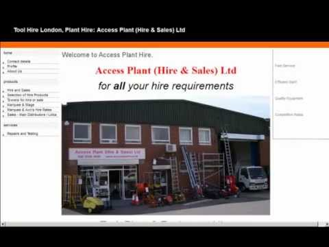 Tool Hire London - Tools, Plant & Equipment All London Areas
