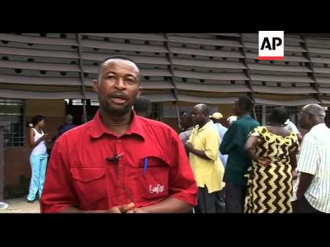 Polls open in election in Democratic Republic of Congo
