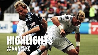 HIGHLIGHTS: Vancouver Whitecaps vs. Sporting Kansas City | August 10, 2014