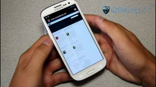 CyanogenMod 10 Jelly Bean Rom on the Samsung Galaxy S III [PREVIEW]