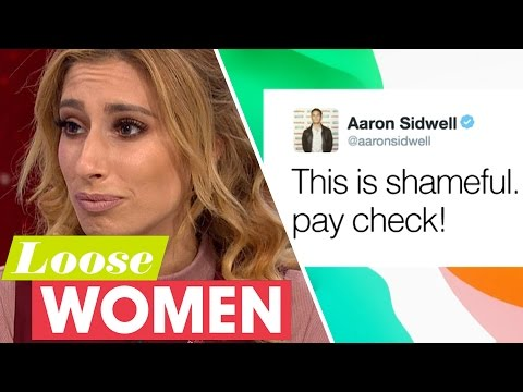 Stacey Solomon's Panto DRAMA with Eastender's Aaron Sidwell | Loose Women