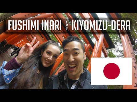 Kyoto's Fushimi Inari and Kiyomizu-Dera (vlog #88)