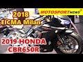 THE NEW 2019 Honda CBR650R