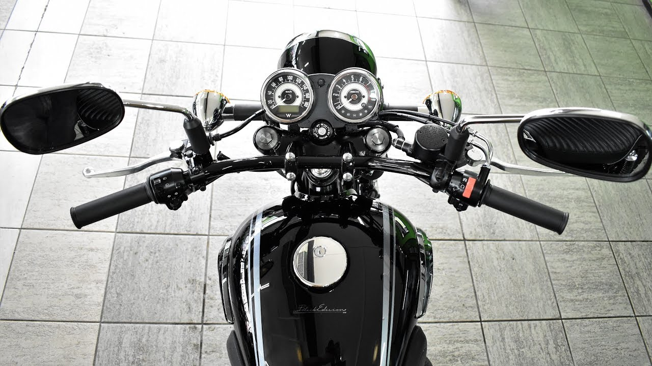 Kawasaki W800 Black Edition Classic Quick Review