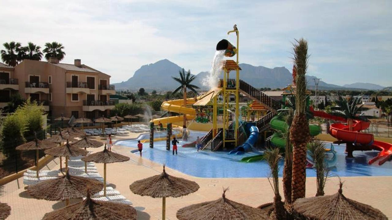Aquagarden park complejo albir garden aqua park albir for Hoteles con piscina climatizada en andalucia