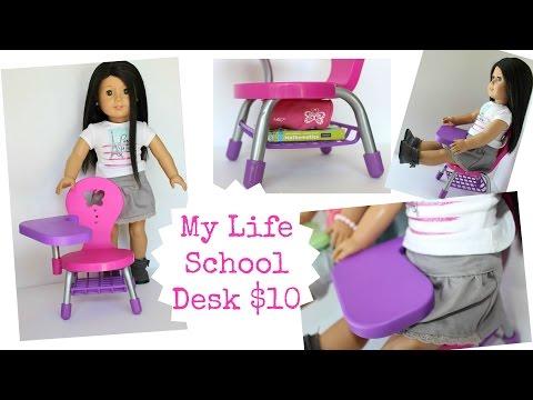 School Desk Playset Review