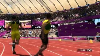 London 2012 - 200m World Record 18.83s - PC Game | HD