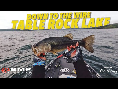 FLIRTING WITH THE CUT-LINE: TABLE ROCK LAKE   BMP FISHING