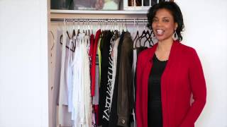 How To Build Your Own Closet Organizer : Home Organizing Moments